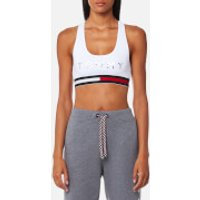 Tommy Hilfiger Womens Active Wear Crop Sports Top - Classic White - M - White