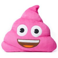 Pink Poo Emoji® Cushion