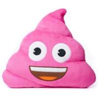 Emoji Cushion - Pink Poop