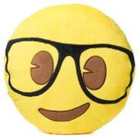 Emoji Cushion - Geek Face