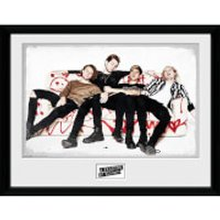 5 Seconds of Summer Live Sofa - 16 x 12 Inches Framed Photograph - 5 Seconds Of Summer Gifts