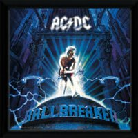 AC/DC Ballbreaker - 12 x 12 Inches Framed Album Print - Acdc Gifts