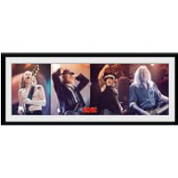 AC/DC Band - 30 x 12 Inches Framed Photograph - Acdc Gifts