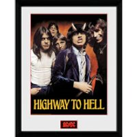 AC/DC Highway To Hell - 16 x 12 Inches Framed Photograph - Acdc Gifts