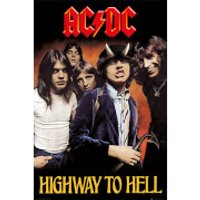 AC/DC Highway To Hell - 61 x 91.5cm Maxi Poster - Acdc Gifts
