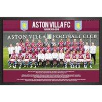 Aston Villa Team Photo 15/16 - 61 x 91.5cm Framed Maxi Poster - Aston Villa Gifts