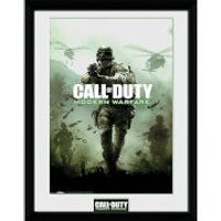 Call of Duty: Modern Warfare Key Art - 16 x 12 Inches Framed Photograph - Call Of Duty Gifts