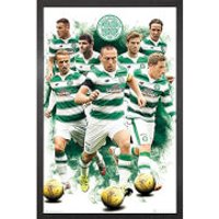 Celtic Players 15/16 - 61 x 91.5cm Framed Maxi Poster - Celtic Gifts