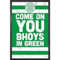 Celtic Vintage - 61 x 91.5cm Framed Maxi Poster - Celtic Gifts