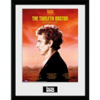 Doctor Who Spacetime Tour 12th Doctor - 16 x 12 Inches Framed Photograph - Doctor Who Gifts