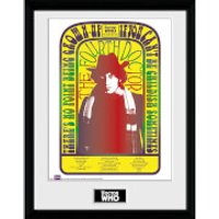 Doctor Who Spacetime Tour 4th Doctor - 16 x 12 Inches Framed Photograph - Doctor Who Gifts