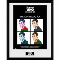 Doctor Who Spacetime Tour 9th Doctor - 16 x 12 Inches Framed Photograph - Doctor Who Gifts