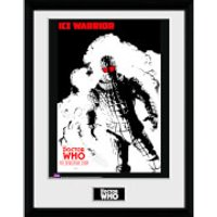 Doctor Who Spacetime Tour Ice Warrior - 16 x 12 Inches Framed Photograph - Doctor Who Gifts