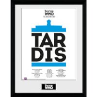 Doctor Who Spacetime Tour Tardis - 16 x 12 Inches Framed Photograph - Doctor Who Gifts