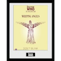 Doctor Who Spacetime Tour Weeping Angels - 16 x 12 Inches Framed Photograph - Doctor Who Gifts