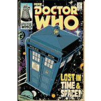 Doctor Who Tardis Comic - 61 x 91.5cm Maxi Poster - Doctor Gifts