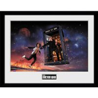 Doctor Who: Season 10 Iconic - 16 x 12 Inches Framed Photograph - Doctor Who Gifts