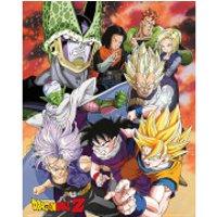 Dragon Ball Z Cell Saga - 40 x 50cm Mini Poster