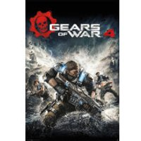 Gears of War 4 Game Cover - 61 x 91.5cm Maxi Poster - Gears Of War Gifts