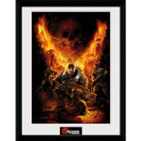 Gears of War 4 Gears 1 - 16 x 12 Inches Framed Photograph - Gears Of War Gifts