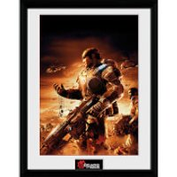 Gears of War 4 Gears 2 - 16 x 12 Inches Framed Photograph - Gears Of War Gifts