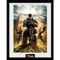 Gears of War 4 Gears 3 - 16 x 12 Inches Framed Photograph - Gears Of War Gifts