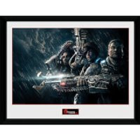 Gears of War 4 Landscape - 16 x 12 Inches Framed Photograph - Gears Of War Gifts