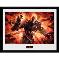 God of War Ares - 16 x 12 Inches Framed Photograph - God Gifts