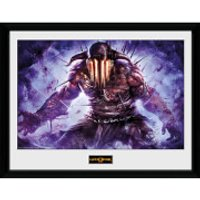 God of War Hades - 16 x 12 Inches Framed Photograph - God Gifts