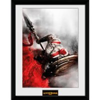 God of War Kratos Sparta Wing - 16 x 12 Inches Framed Photograph - God Gifts