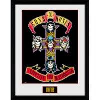 Guns N' Roses Appetite - 16 x 12 Inches Framed Photograph - Guns Gifts