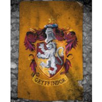 Harry Potter Gryffindor Flag - 40 x 50cm Mini Poster - Gryffindor Gifts