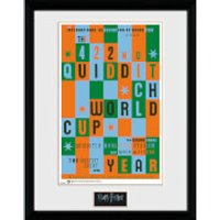 Harry Potter Quidditch World Cup - 16 x 12 Inches Framed Photograph - World Cup Gifts