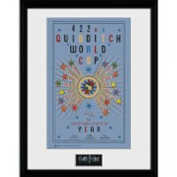 Harry Potter Quidditch World Cup 2 - 16 x 12 Inches Framed Photograph - World Cup Gifts