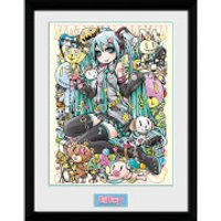 Hatsune Miku Kawaii - 16 x 12 Inches Framed Photograph - Kawaii Gifts