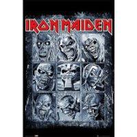 Iron Maiden Eddies - 61 x 91.5cm Maxi Poster - Iron Maiden Gifts
