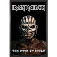Iron Maiden the Book of Souls - 61 x 91.5cm Framed Maxi Poster - Iron Maiden Gifts