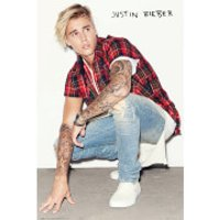 Justin Bieber Crouch - 61 x 91.5cm Maxi Poster - Justin Bieber Gifts