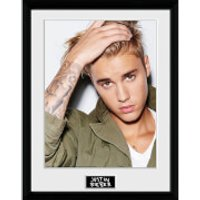 Justin Bieber Green Jacket - 16 x 12 Inches Framed Photograph - Justin Bieber Gifts