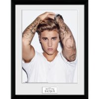 Justin Bieber Hair - 16 x 12 Inches Framed Photograph - Justin Bieber Gifts
