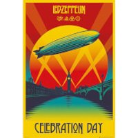 Led Zeppelin Celebration Day - 61 x 91.5cm Maxi Poster - Led Zeppelin Gifts