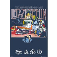 Led Zeppelin Remains - 61 x 91.5cm Maxi Poster - Led Zeppelin Gifts