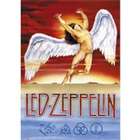 Led Zeppelin Swan Song - 61 x 91.5cm Maxi Poster - Led Zeppelin Gifts