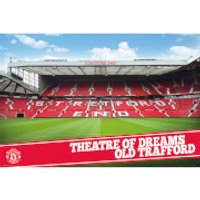 Manchester United Theatre of Dreams - 61 x 91.5cm Maxi Poster - Manchester United Gifts