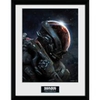 Mass Effect: Andromeda Key Art - 16 x 12 Inches Framed Photograph - Mass Effect Gifts