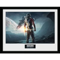 Mass Effect: Andromeda Landscape - 16 x 12 Inches Framed Photograph - Mass Effect Gifts