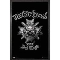 Motorhead Bad Magic - 61 x 91.5cm Framed Maxi Poster - Motorhead Gifts