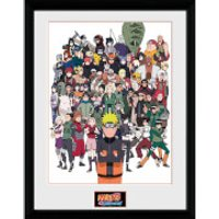 Naruto Shippuden Group - 16 x 12 Inches Framed Photograph - Naruto Gifts