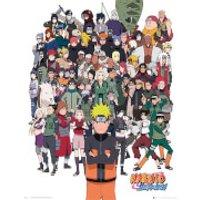 Naruto Shippuden Group - 40 x 50cm Mini Poster - Naruto Gifts