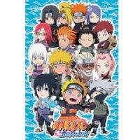 Naruto Shippuden SD Compilation - 61 x 91.5cm Maxi Poster - Naruto Gifts